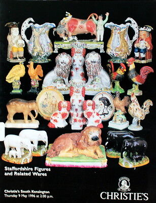 Christies Staffordshire Figures & Related Wares  S.kens 5/9/1996-D