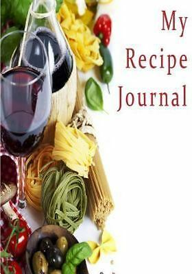 my recipe journal blank cookbook 7 x 10 111 pages 8 29 picclick