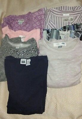 Variety Lot Maternity Clothes Tops & Jeans