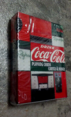 Drink Coca-Cola Vending Machine Playing Cards New & Sealed Pack By Bicycle