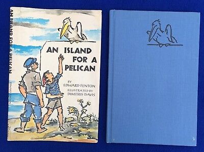 An Island for a Pelican Book Edward Fenton First Edition Vintage 1963 HB DJ