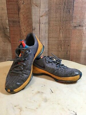 4a84749cfff ... inexpensive nike kd 8 prince george basketball shoes sz 4.5y grey  yellow 768867 050 235e1