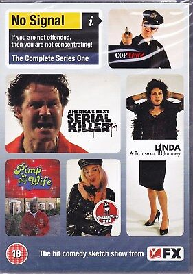 No Signal: The Complete Series 1 Dvd Brand New & Factory Sealed Uk Pal Reg 2.