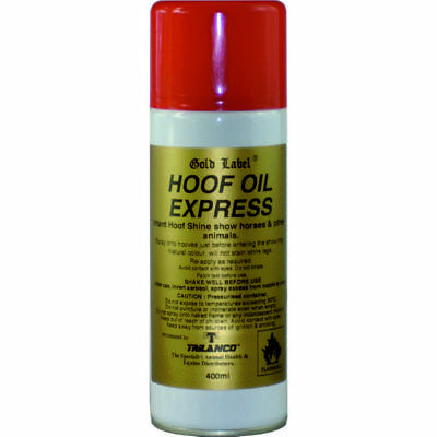 Gold Label - Hoof Oil Express 400ml Instant Hoof Shine