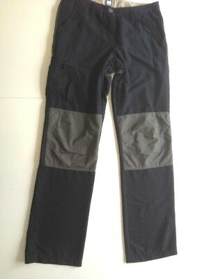 Men's MUSTO Evolution pants trousers with Kevlar - black / grey 38L