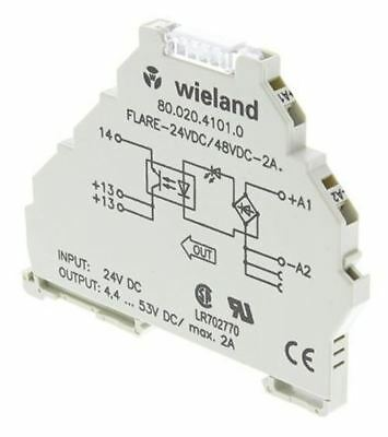 Wieland 2 A Solid State Relay, DIN Rail, 53 V Maximum Load