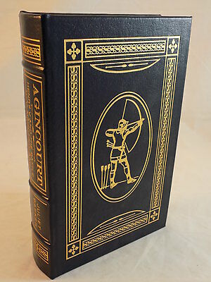 The Easton Press - Agincourt Juliet Baker Leather Bound Like New