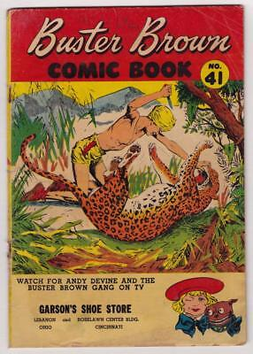 Buster Brown Comics #41, 1955 Andy Devine/Froggy the Gremlin