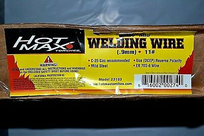 "10 lb Roll  ER70S-6 .035"" Mild Steel MIG Welding Wire Ships Free! HTP Quality!"