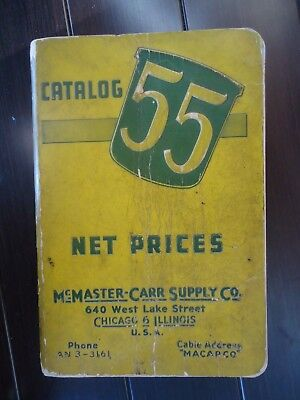 McMaster-Carr Supply Catalogue No. 55 - 1948, 1,600 pages, Chicago