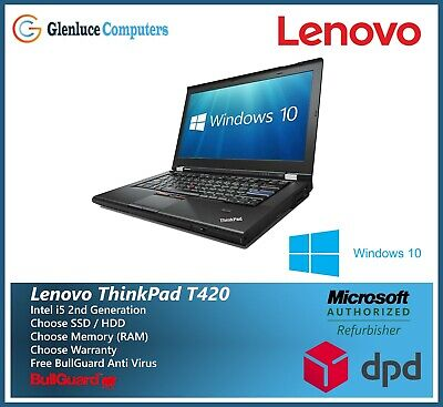 Cheap Fast Lenovo ThinkPad Office Laptop T420 Core i5 8GB Ram 1TB HDD Windows 10