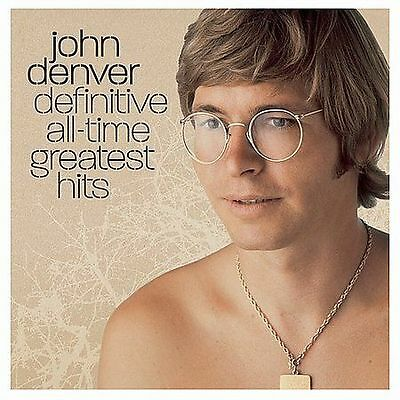 Definitive All-Time Greatest Hits by John Denver (CD, Oct-2004, 2 Disc Like New!