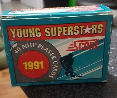 1991 Score NHL Young Hockey Superstars 40 card set. Collectors deal!!