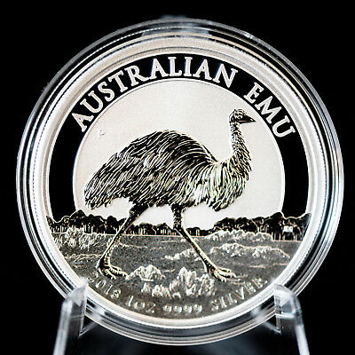 Endangered /& Extinct 2018 $1 Powerful Owl 1oz Silver Proof 40.60mm 5000 Limit ED