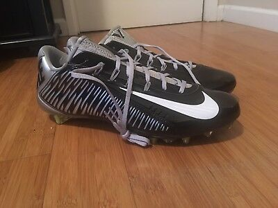 73632d1366 Nike Vapor Carbon 2.0 Elite TD PF Football Cleats Sz 14 Black Silver  657441-023