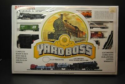 Vintage Bachmann Yard Boss N Scale Electric Train Set FACTORY SEALED