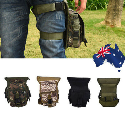 Outdoor Military Tactical Backpack Rucksack Sport Hiking Camping Travel Leg Pack