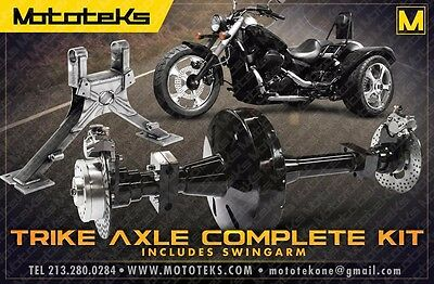INDEPENDENT SUSPENSION TRIKE Conversion Kit for Harley