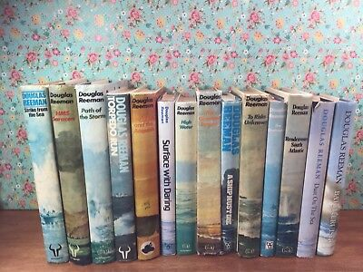 A selection of 14 Hardback novels by Douglas Reeman in good condition.