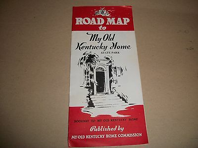 My Old Kentucky Home State Park brochure (from the early 1940s)