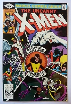 Uncanny X-Men 139 1st Series 1980 Kitty Pryde Joins VFN+/NM Condition