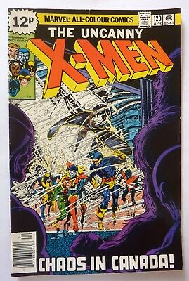 Uncanny X-Men 120 1st Series 1979 First Alpha Flight VFN+