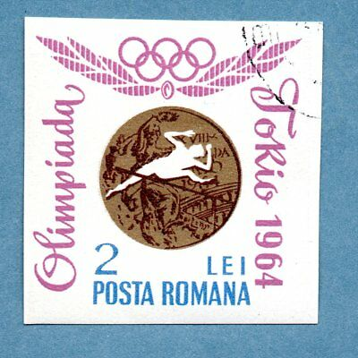ROMANIA stamp 1964 Olympic Games. Romanian Gold Medal Awards