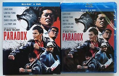 New Paradox Blu Ray Dvd 2 Disc Set + Slipcover Sleeve Free World Wide Shipping