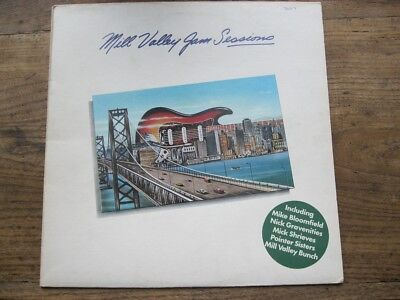 EX  VARIOUS / MIKE BLOOMFIELD - Mill Valley Jam Sessions LP