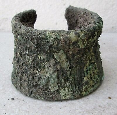 Ancient Khmer Bronze  Warrior Bracelet Bangle