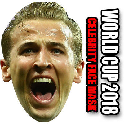 The SUPER Harry Kane **ENGLAND SAVIOR** Celebrity Face Mask Football - THICKER