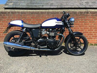 Triumph Bonneville Newchurch 2016 Cafe Racer 600000 Picclick Uk