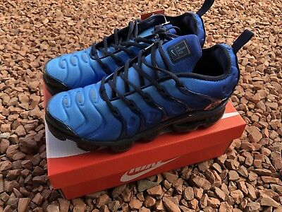 new concept 47e18 947db Nike Air VaporMax Plus Blue Mens Trainers Sneakers UK 10