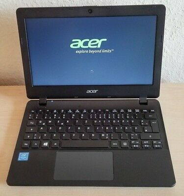 "Acer Aspire ES 11 ES1-131-P7WN 11,6"" Netbook Intel Quad-Core N3710 4GB 240GB SSD"