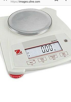 Ohaus Scout balance scale-620 grams × .01 gram. New in box. Retail price $695.00