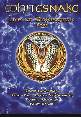 Whitesnake - Live At Donington 1990 [Dvd] Digipacnew