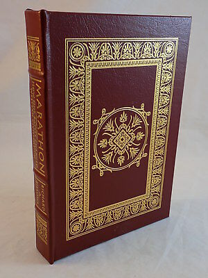 THE EASTON PRESS - MARATHON How One Battle changed Western Civilization LIKE NEW