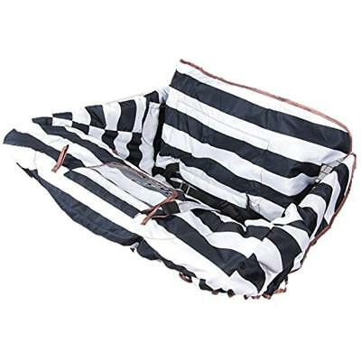 Shopping Cart Cover Baby Toddler - Universal Fit,Roll-in Style Pouch, 360 Germ