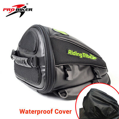 Riding Motorcycle Bag Synthetic Leather Waterproof Riding Tank Bag Luggage New