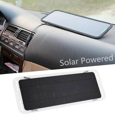 18V 5W Car Boat Automobile Solar Powered Charging Panel Battery Charger 7D593C3