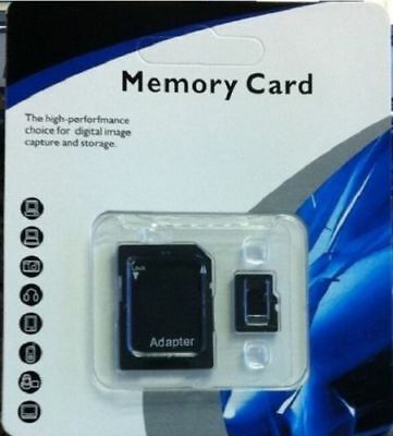 128GB microSD SDXC Flash TF Memory Card Class 10 Micro SD Free SD Adapter Retail