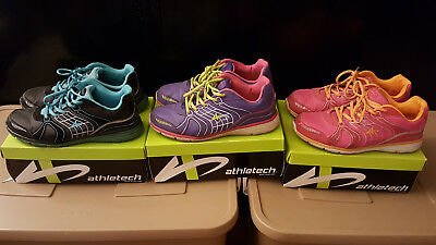 Lot Of 3 Pairs Of Women's Athletech / Willow2 Sneakers - Size: 11
