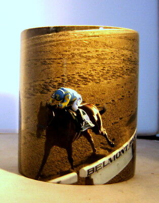 Unique Coffee Mug American Pharoah Race Horse Win Triple Crown Photo Print