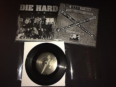 "DIE HARD off the bat demo 1987 7"" hc pre- integrity confront oop  BLACK MINT/225"
