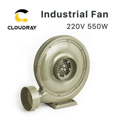 220V 550W 750W Exhaust Fan Air Blower Centrifugal for CO2 Laser Engraver Cutting