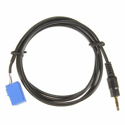 Aux In Input Adapter Interface Cable For Blaupunkt Car Mp3 3.5Mm Jack V5W7