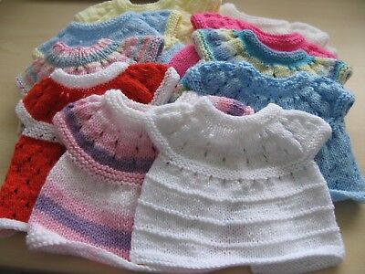New Baby Angeltop/dress Hand Knitted  (Lot 4-3 ) Special Offer