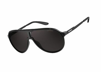 667a98f3a0176 CARRERA NEW CHAMPION Aviator Sunglasses Matte Black   Brown Gray ...