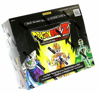 dragon ball z collectible card game heroes villains booster box no tax