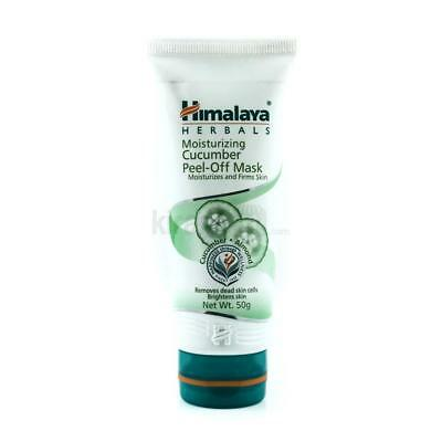 Himalaya Herbal Moisturizing Cucumber Peel-Off Face Mask Removes Pimples Pores